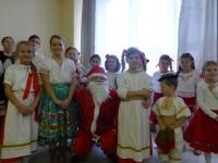 vystúpenie folklórneho súboru